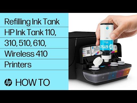 Refilling Ink in HP Ink Tank Printers