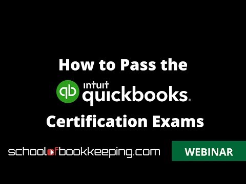 How to Pass the QuickBooks Online Certification Exam