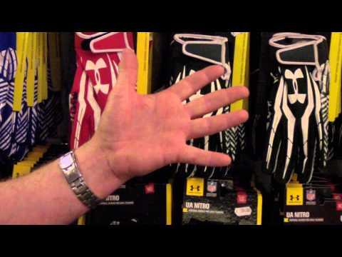 Football America UK - Glove Fitting Guide