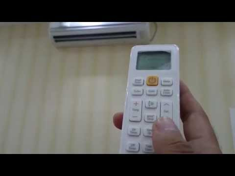 How to : Start on functioning of Samsung Split  AC