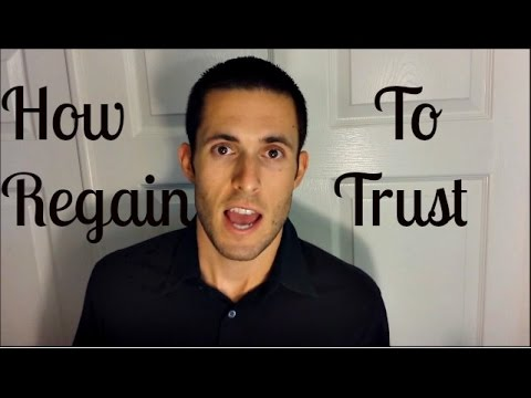 How to Regain Trust In A Relationship:  Attachment Theory