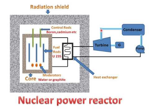 NUCLEAR REACTOR(PARTS & WORKING) !LEARN AND GROW !!