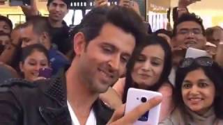 Hrithik roshan was live at dubai