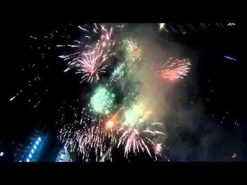 SINULOG 2016 Fireworks @ Ayala Cebu (SJCAM)