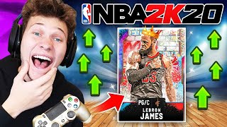 OMG PULLED RAREST CARD IN THE GAME 99 LEBRON JAMES