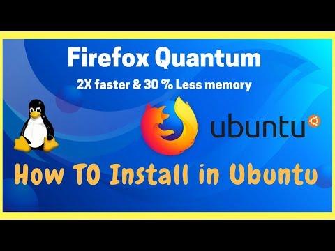 Firefox Quantum 57 browser is better than Google chrome install it on Ubuntu.