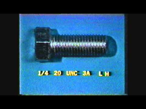 Mechine Technology III lesson 4 Measuring External and Internal Threads