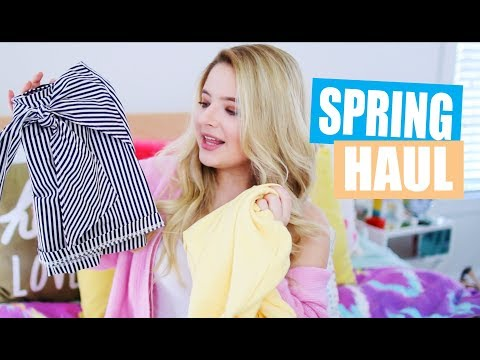 Spring Break Haul: Urban Outfitters, Lulus, Forever 21, and more!
