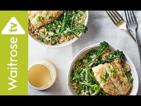 Miso Cod And Broccoli Grain Bowls | Waitrose