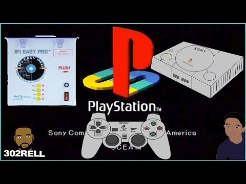 Repairing Scratched Playstation 1 Video Game Disc with JFJ Easy Pro Plus+ CD/DVD Resurface Tool