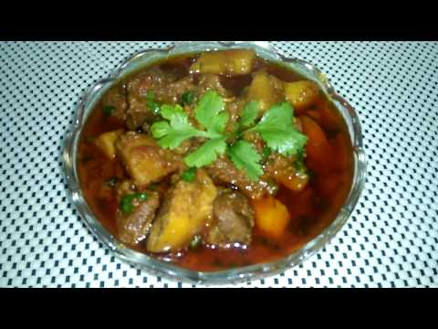 Aloo Gosht Recipe | आलू गोश्त | Mutton Aloo Gosht Recipe by Punjabi Cooking