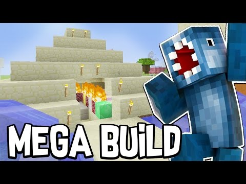 Minecraft Xbox - BUILDING A PYRAMID?!! - MEGA Building Time [#83]