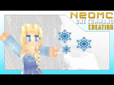 Minecraft: Frozen (Ice Powers) - One Command Creation