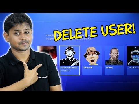 How To Delete PS4 User Account?