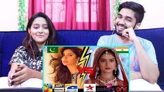 INDIANS react to Pakistani Dramas vs Indian Dramas | Sana's Bucket