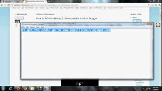 How to add a sitemap google webmaster tools