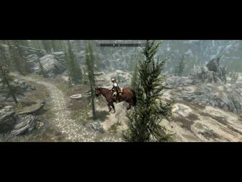 Skyrim Special Edition Flying Horse Bug