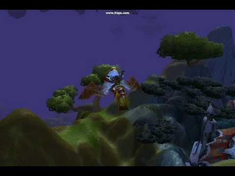 wow how to flip on a flying mount