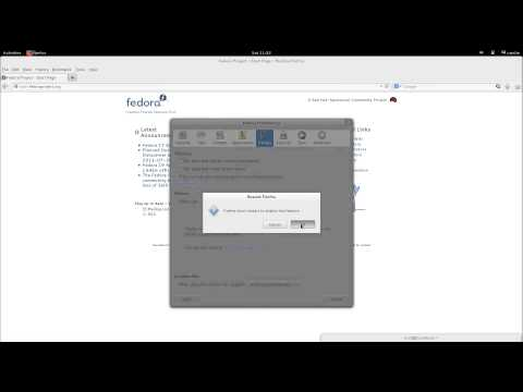 Start Mozilla in PRIVATE MODE by default in Fedora 19/Linux