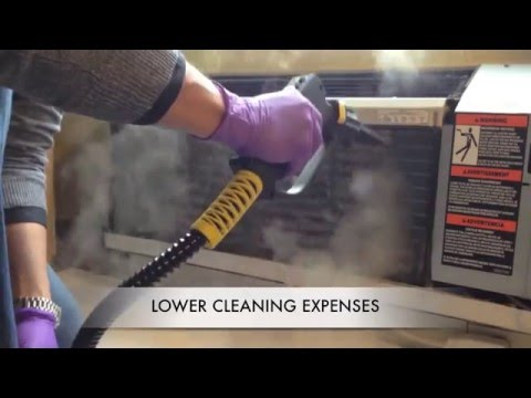 Dry Steam Air Conditioner Coil Cleaning/ Tecnovap