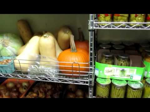A Tour of our Root Cellar