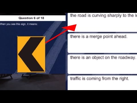 FAILING MY PA DRIVERS TEST QUESTIONS (IS GETTING LICENCE IS HARD)