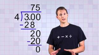 Math Antics Convert Any Fraction To A Decimal