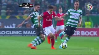 Polémica: Cartão amarelo bem mostrado a Bruno Fernandes? (Sporting - Benfica)