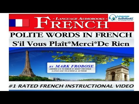 POLITE WORDS IN FRENCH