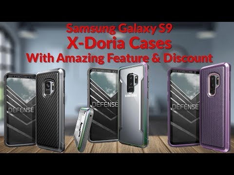 Samsung Galaxy S9 X-Doria Cases With Amazing Feature & Discount - YouTube Tech Guy