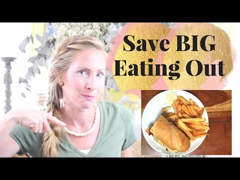 How to Save Money on Eating Out   Save 50% or MORE!