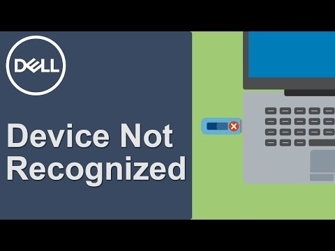 USB Device Not Recognized (Official Dell Tech Support)