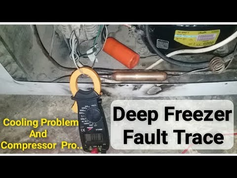 Deep freezer not working trace fault |Step by step in Urdu/Hindi