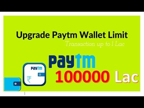 How to Add Money to Increase your Paytm wallet-spending limit to Rs. 1 Lac, Free of cost ! 2016