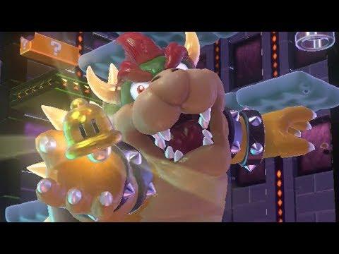 Super Mario 3D World - All Bowser Levels