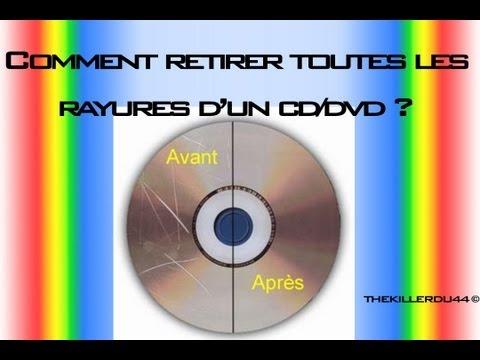 [Tuto] Réparer et Nettoyer un CD/DVD très rayé !