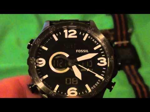 fossil antalog digital watch