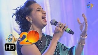 Kalpana Performance -  Nityam Yekantam   Song in Nellore ETV @ 20 Celebrations