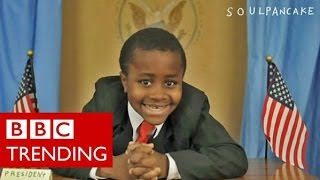 Who is Kid President? BBC Trending met the 11-year-old YouTube star