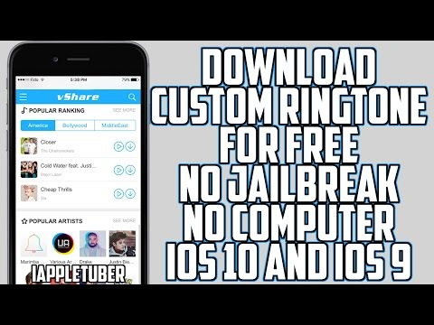 How to Download Ringtones on your iPhone Free No Computer No Jailbreak iOS 10 & 9 - 9.3.5