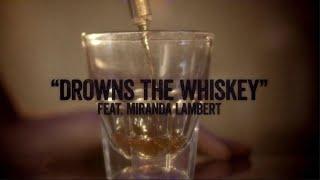 Jason Aldean  Drowns The Whiskey Ft Miranda Lambert Lyric Video