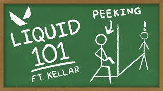 Liquid 101 - Episode 1 - Peeking in VALORANT with Kellar