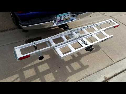 Harbor freight motorcycle carrier dirt bike ramp