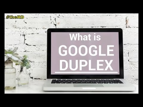 What is Google Duplex ? The Future is here on  AI
