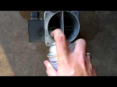 how to clean mass airflow sensor blazer jimmy sonoma bravada s10