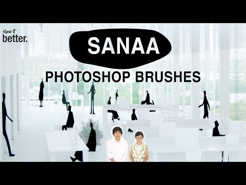 How to Install Brushes in Photoshop / Free SANAA Brushes Included
