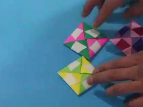 How to make an Origami Mosaic ttakji