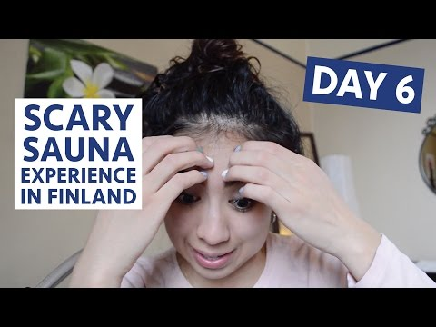 VLOG #138: Day 6 MY SCARY SAUNA EXPERIENCE IN HELSINKI, FINLAND -  April 22, 2016 | Erica Joaquin
