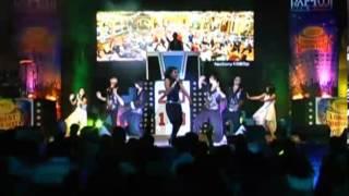Navya Jaiti Performimg On Telugu Songscrowd Njoying Amazingly