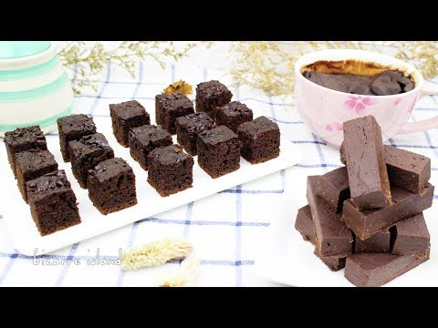Baking Hacks : NO BAKE BROWNIES 3 WAYS (Microwave, Stovetop & Refrigerator!) | d for delicious